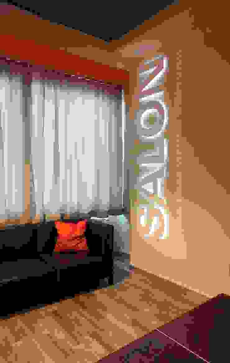 Salon Moderner Multimedia-Raum von raumdeuter GbR Modern
