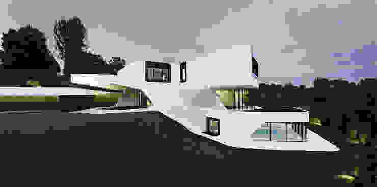 DUPLI CASA - Villa near Ludwigsburg, Germany Häuser von J.MAYER.H