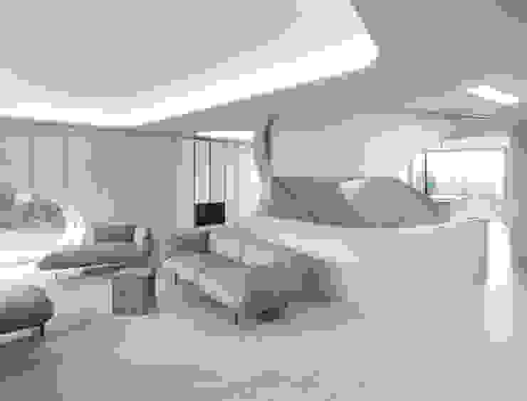 Salon moderne par J.MAYER.H Moderne