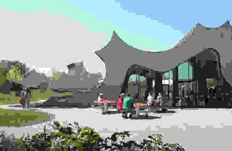 DANFOSS UNIVERSE - Extension (Phase II) Food Factory and Curiosity Center, Nordborg, Denmark Schulen von J.MAYER.H