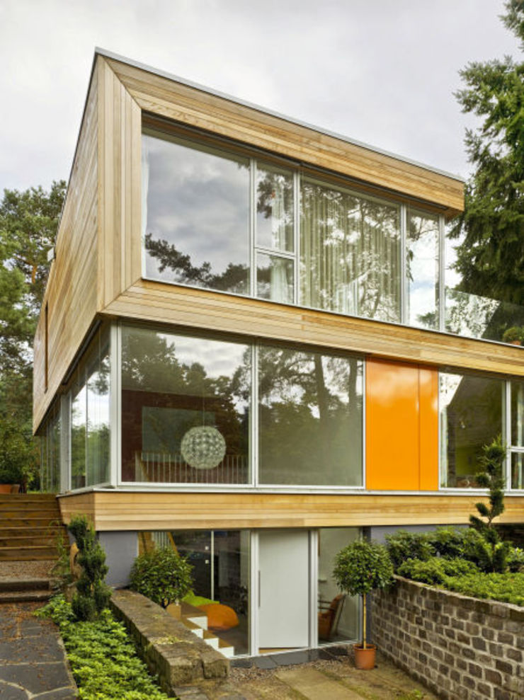Haus Jacobs Moderne Häuser von Innenarchitektur Berlin Modern