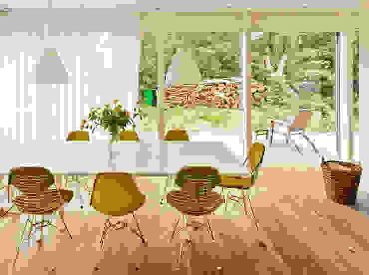 Haus Jacobs Moderne Küchen von Innenarchitektur Berlin Modern