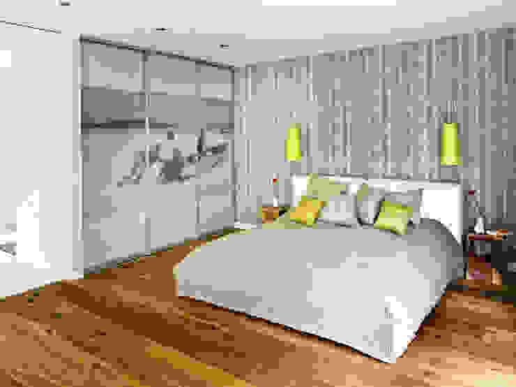 Haus Jacobs Moderne Schlafzimmer von Innenarchitektur Berlin Modern