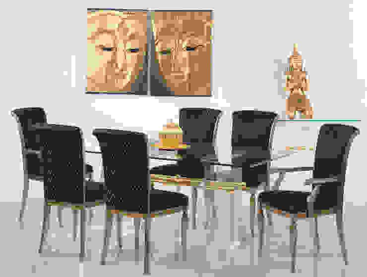 Finkeldei Polstermöbel GmbH Ruang makan: Ide desain, inspirasi & gambar