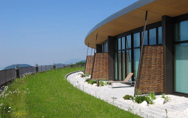 InterContinental Berchtesgaden Resort Häuser von Optigrün international AG