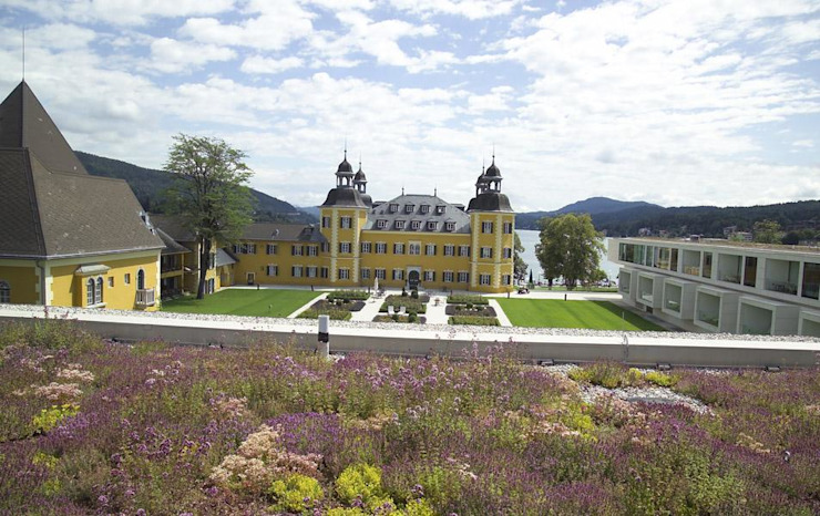 Schloss Velden Ausgefallene Häuser von Optigrün international AG Ausgefallen