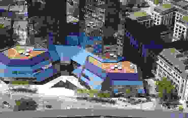 Deutsche Bank Frankfurt Häuser von Optigrün international AG