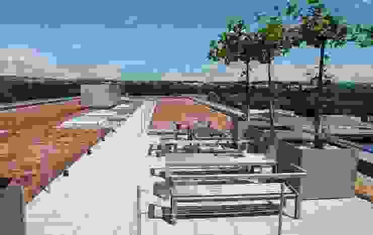 Dachser Kempten Balkon, Veranda & Terrasse von Optigrün international AG
