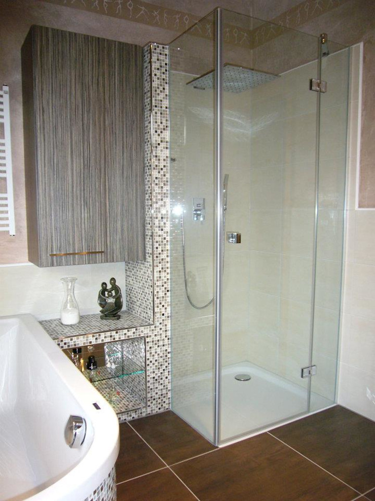 Familienbad Asiatische Badezimmer von Badkultur | Berlin Asiatisch