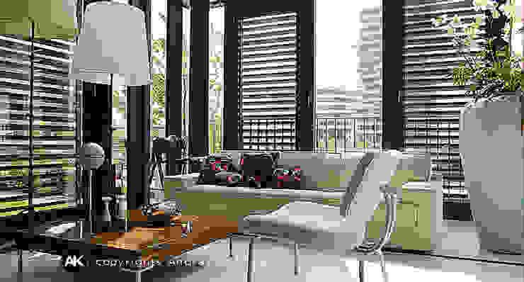 Andras Koos Architectural Interior Design Modern Oturma Odası