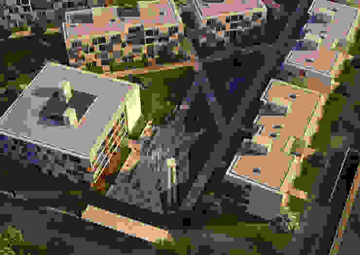 Wohnanlage Güzelbiryer: modern  von asp Architekten Stuttgart,Modern