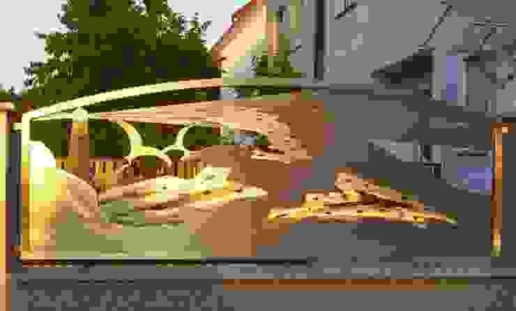 Stainless Steel Design de Edelstahl Atelier Crouse - individuelle Gartentore Moderno