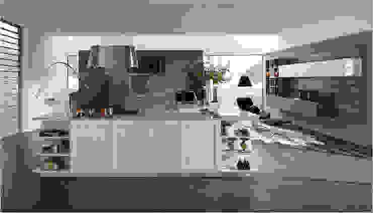 Küchenfronten – weiß Minimalistische Küchen von ALNO AG Minimalistisch