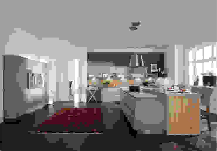 Küchenfronten – grau Moderne Küchen von ALNO AG Modern