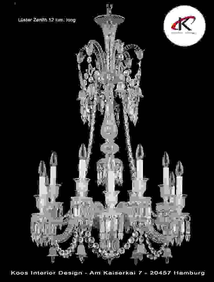 Leuchten und Lichtdesign: modern  von Andras Koos Architectural Interior Design,Modern