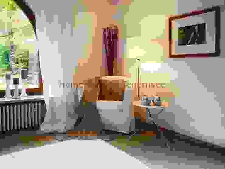 Schlafzimmer nachher von Home Staging Tegernsee Ausgefallen