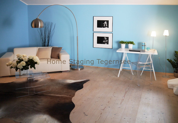 Salones de estilo  por Home Staging Tegernsee