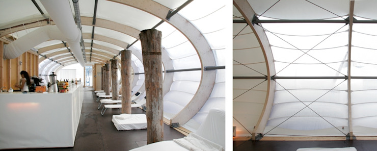Winterbadeschiff Moderne Yachten & Jets von Wilk-Salinas Architekten BDA Modern