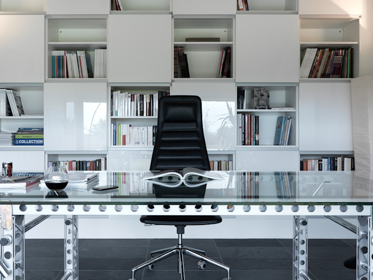 Modern Study Room and Home Office by LEICHT Küchen AG Modern
