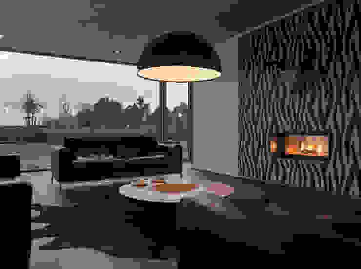 Martelange | Belgien Moderne Wohnzimmer von LEICHT Küchen AG Modern