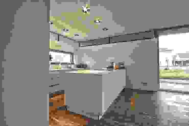 Einfamilienhaus KU09 vor der Alb Moderne Küchen von Schiller Architektur BDA Modern