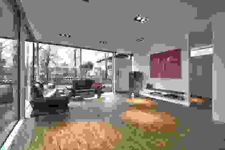 Einfamilienhaus KU09 vor der Alb Moderne Wohnzimmer von Schiller Architektur BDA Modern