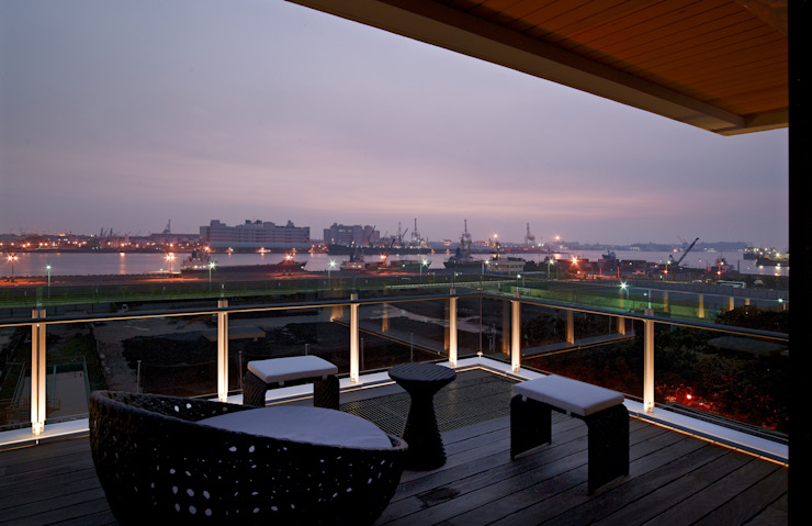 Kaohsiung City | Taiwan Balkon, Veranda & Terrasse von LEICHT Küchen AG