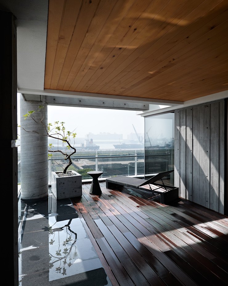 Kaohsiung City | Taiwan LEICHT Küchen AG Asiatischer Balkon, Veranda & Terrasse