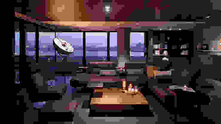 Salas de estilo moderno de LEICHT Küchen AG Moderno