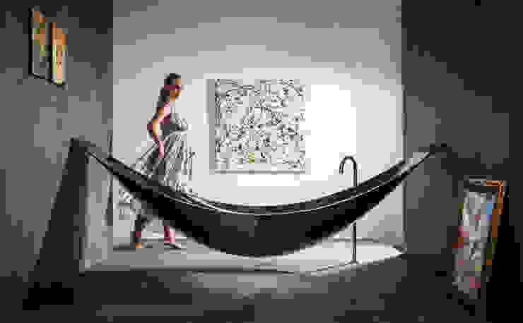 ミニマルスタイルの お風呂・バスルーム の Design by Torsten Müller ミニマル