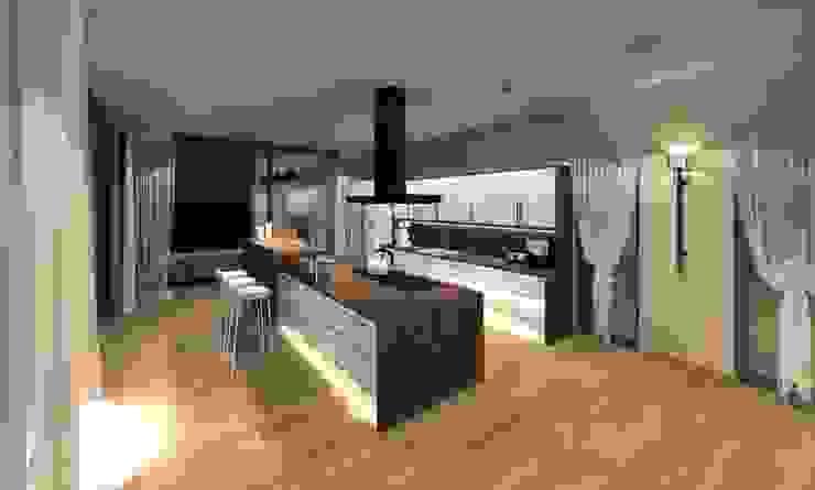 visualisierung küche Küche von innenarchitektur s. kaiser