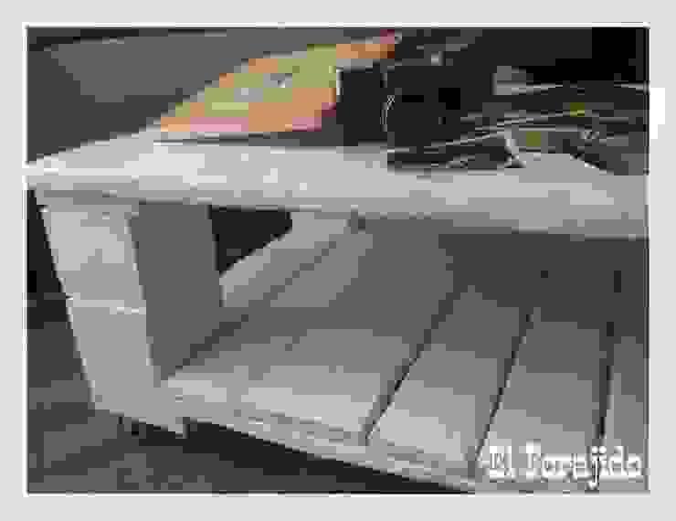 mesa de centro de salon de El forajido Rústico