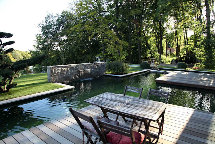 Kirchner Garten & Teich GmbH Modern style gardens