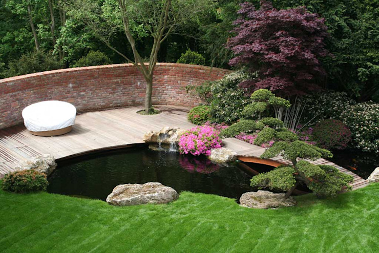 Kirchner Garten & Teich GmbH Taman Modern