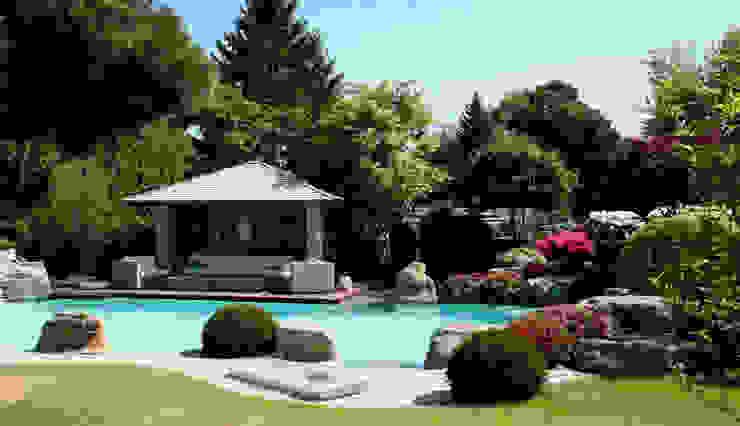 Natural-Pool in Braunschweig Kirchner Garten & Teich GmbH Moderner Garten