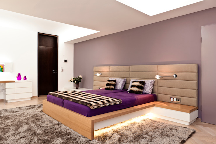 Modern style bedroom by schulz.rooms Modern