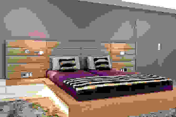 Villenanwesen Moderne Schlafzimmer von schulz.rooms Modern