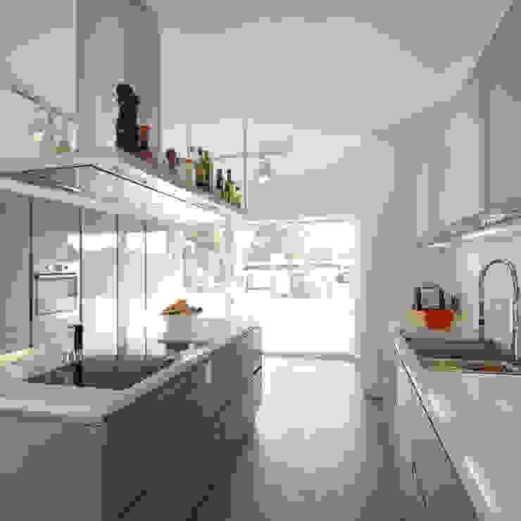 Moderne keukens van kenchiku Modern