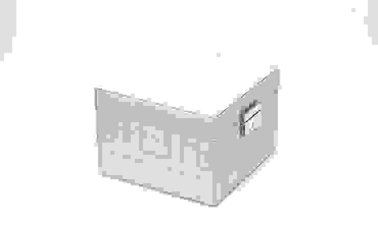 Global Views Schmuckbox Leder gesteppt Sweets & Spices Dekoration und Möbel WohnzimmerAccessoires und Dekoration