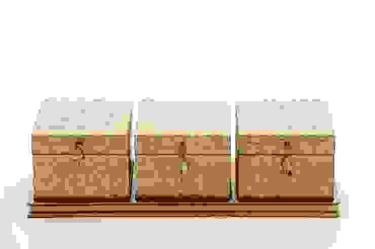 """Maitland Smith Boxen Set """"Shell"""" Sweets & Spices Dekoration und Möbel WohnzimmerAccessoires und Dekoration"""