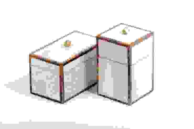 """Maitland Smith Boxenset """"Fossil"""" Sweets & Spices Dekoration und Möbel WohnzimmerAccessoires und Dekoration"""