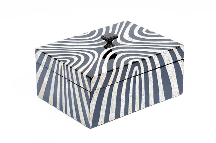 """Maitland Smith Box """"Zebra"""" Sweets & Spices Dekoration und Möbel WohnzimmerAccessoires und Dekoration"""