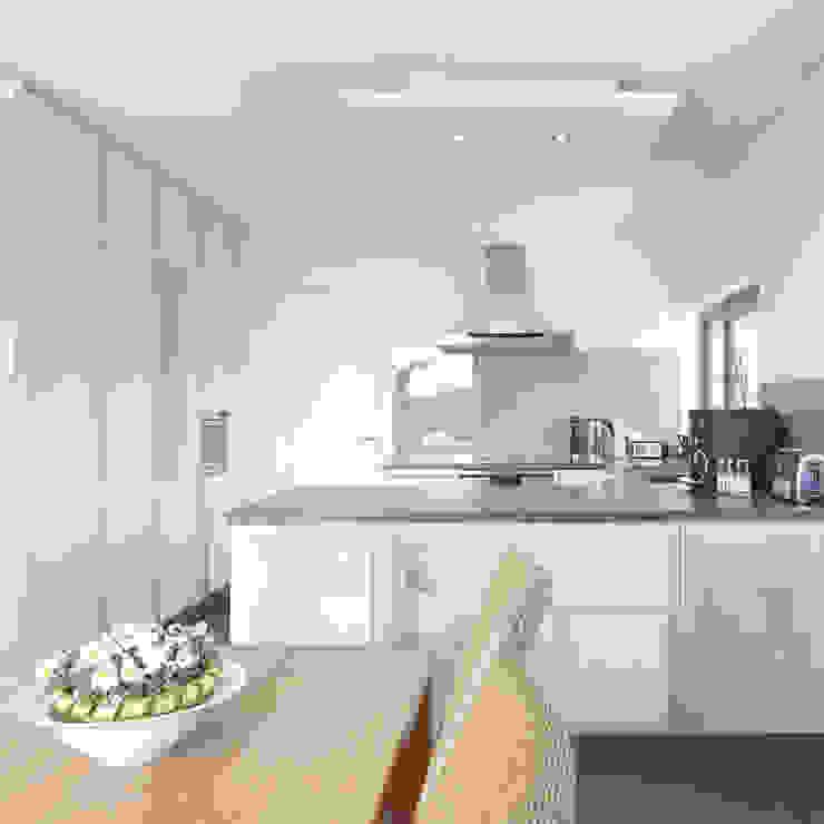 Einfamilienhaus M Moderne Küchen von kenchiku Modern
