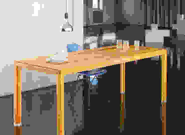 Büroeinrichtung, Gestaltung Lunch-Tafel Minimalistische Bürogebäude von BANDYOPADHYAY interior Minimalistisch