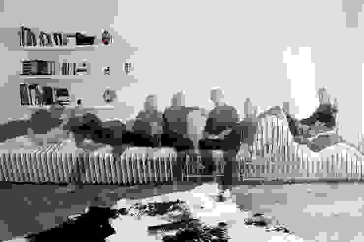 sitscape Ausgefallene Wohnzimmer von Hackenbroich Architekten Ausgefallen