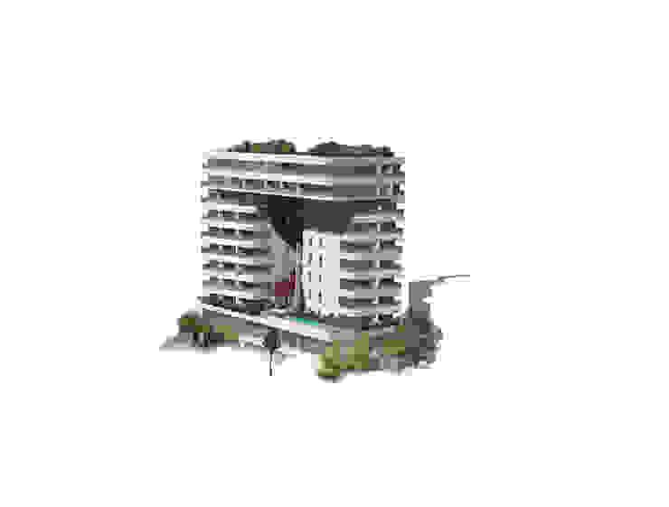 Budva Centre Moderne Häuser von Hackenbroich Architekten Modern
