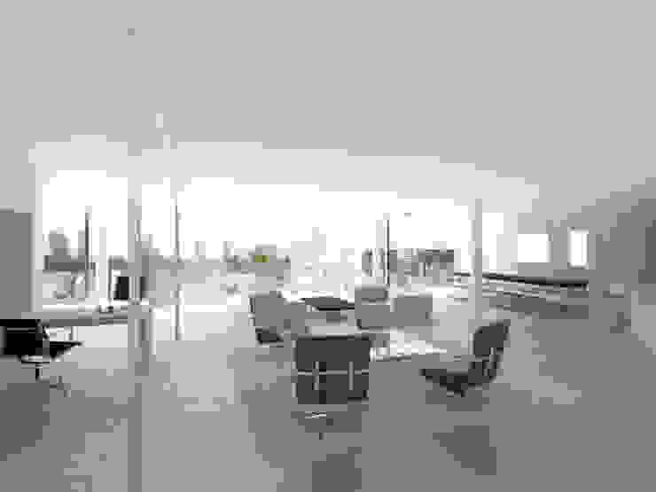Golf's Tower Moderne Wohnzimmer von Hackenbroich Architekten Modern