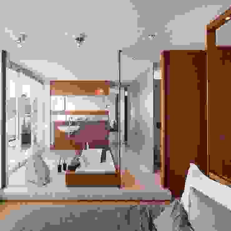 Baddesign exclusiv Badezimmer von innenarchitektur-rathke