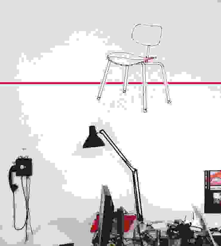 Motiv Eiermann SE68: modern  von Design. Nachhaltig. Gut.,Modern