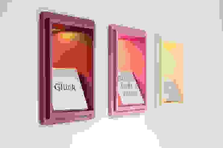 Lichtausschnitte im Durchgang Moderne Geschäftsräume & Stores von homify Modern